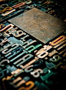 wood letter vintage 01